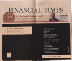 Financial Times - Cover Slip