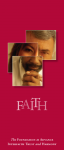 FAITH brochure cover