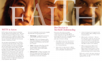 FAITH brochure - inside spread 3